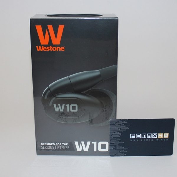 Westone W10 Single Driver Universal Fit Noise Isolating Earphones
