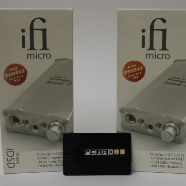 IFI Audio Micro iDSD Digital Analog Converter & Headphones Amplifier