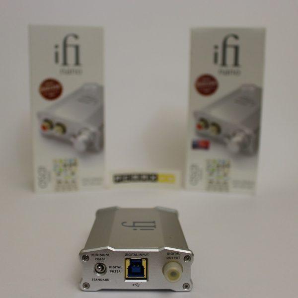 دک و امپلیفایر هدفون Nano iDSD برند IFI Audio