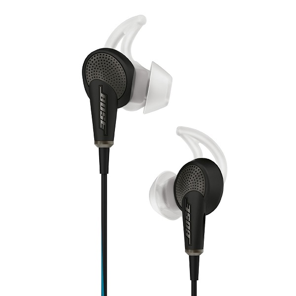 Bose QuietComfort 20 Acoustic Noise Cancelling Headphones – Apple Devices – Black (4)
