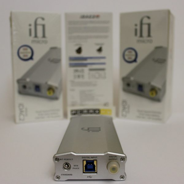 دک و امپلیفایر هدفون کلاس A مدل iDAC2 برند IFI Audio