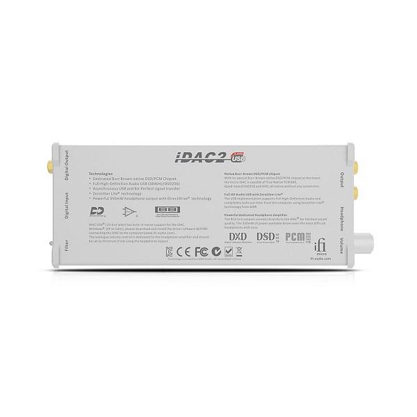 IFI Audio Micro iDAC2 USB DAC Class A Headphone Amp (4)