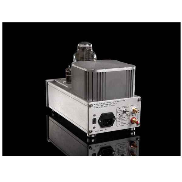 Woo Audio WA6 Single Ended Triode Class-A Headphone Amplifier – Silver (4)