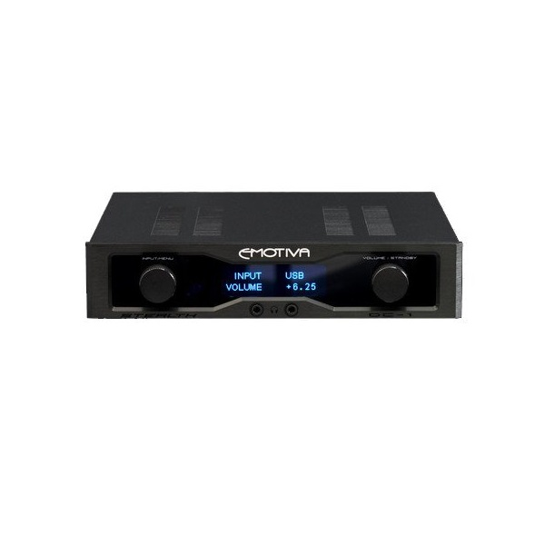 Emotiva Audio Stealth DC-1 Reference Differential Balanced DAC AMP (5)
