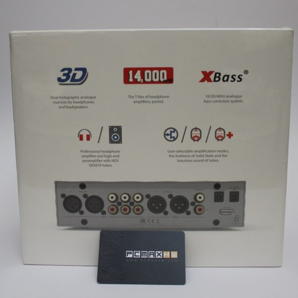 IFI Audio Pro iCan Hybrid Fully Balanced Class A Solid State & Tube Audiophile Headphone Amplifier - IFI Audio iran retailer - WWW.PCMAXHW.COM