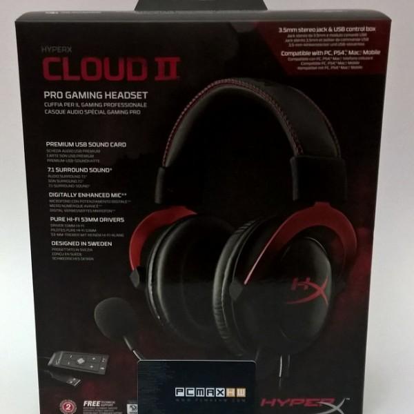 KingSton HyperX Cloud II Gaming Headset 7.1 Virtual Surround Sound