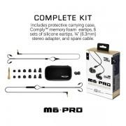 MEE Audio M6 PRO Universal Fit In-Ear Monitors Headphones – Black (5)