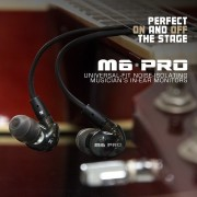 MEE Audio M6 PRO Universal Fit In-Ear Monitors Headphones – Black (7)