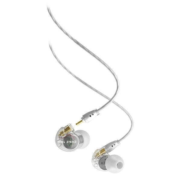 MEE Audio M6 PRO Universal Fit In-Ear Monitors Headphones – Clear (2)
