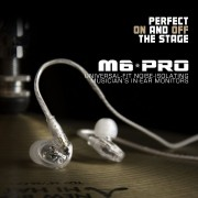 MEE Audio M6 PRO Universal Fit In-Ear Monitors Headphones – Clear (6)