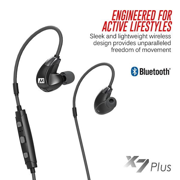 MEE Audio X7 Plus Stereo Bluetooth Wireless Sports In-Ear HD Headphones (5)