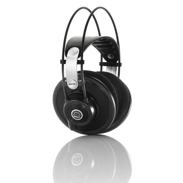 AKG Q 701 Quincy Jones Signature Reference Class Premium Headphones – Black (2)