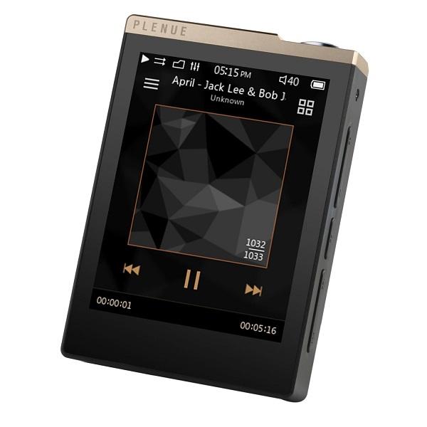 Cowon Plenue D 32GB High Resolution Music Player – Gold