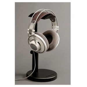 Woo Audio HPS-RS Universal Adjustable Height Aluminum Headphone Stands - Silver,Black (1)