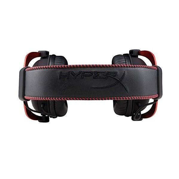 KingSton HyperX Cloud II Gaming Headset 7.1 Virtual Surround Sound PC , PS4 , Mac , Mobile - Red هدست گیمینگ برند کینگ استون مدل هایپراکس Cloud II