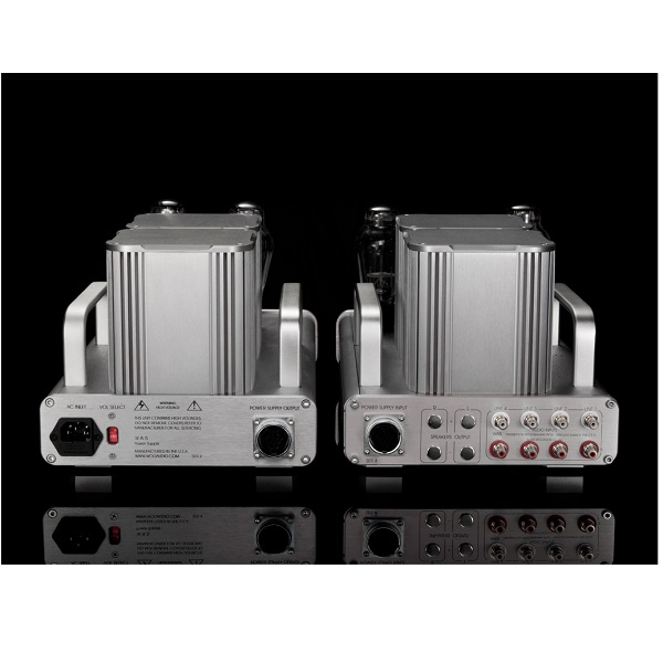 Woo Audio WA5-LE Light Edition 300B Single-Ended Triode Class-A Headphone Amplifier – Silver (2)