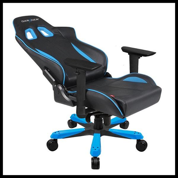 DX Racer King Series Gaming Chair – Black Blue (1)
