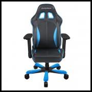 DX Racer King Series Gaming Chair – Black Blue (2)