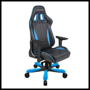 DX Racer King Series Gaming Chair - Black Blue (4)