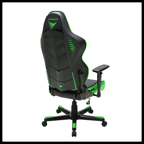 DX Racer Racing Series Gaming Chair – Black Green ( Green LED ) (4)