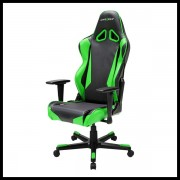 DX Racer Racing Series Gaming Chair – Black Green ( Green LED ) (5)