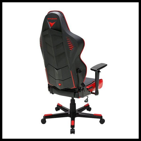 DX Racer Racing Series Gaming Chair – Black RED ( RED LED ) (5)