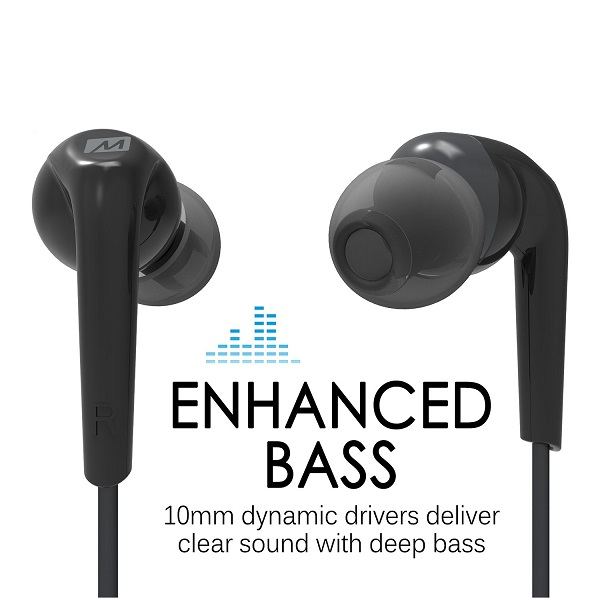 MEE Audio RX18 In-Ear Enhanced Bass Headphones (3)