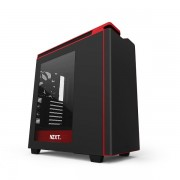 NZXT H440 Mid Tower Computer Case – Black Red (2)