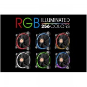 Thermaltake Riing 14 RGB High Pressure 140mm LED Ring Fan (5)