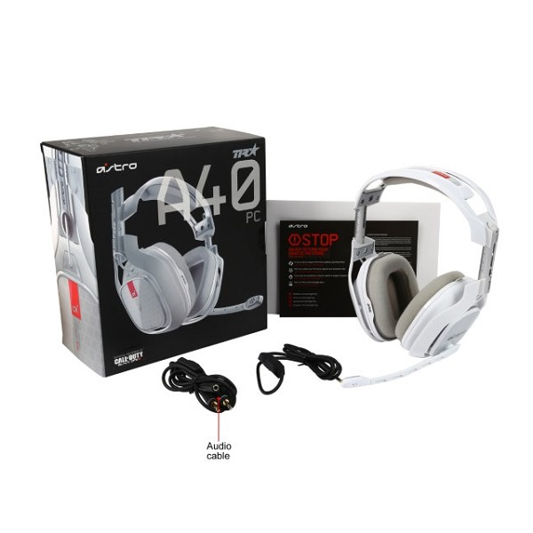 ASTRO Gaming A40 TR PC Gaming Headset – White (6)