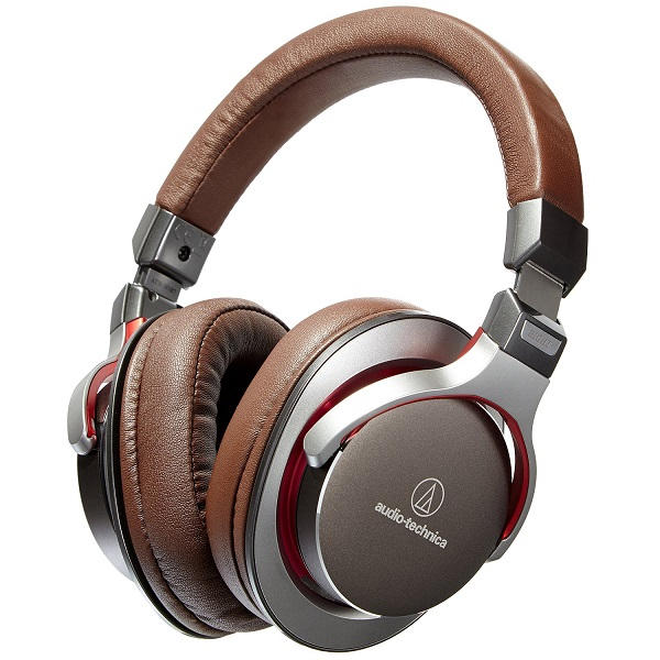 Audio-Technica ATH-MSR7 SonicPro Over-Ear High-Resolution Audio Headphones – Gun Metal Gray (1)
