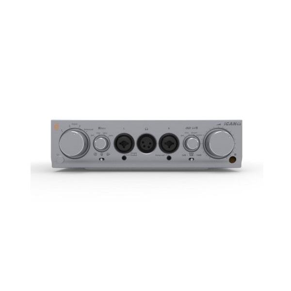 IFI Audio Pro iCan Hybrid Fully Balanced Class A Solid State & Tube Amplifier (1)
