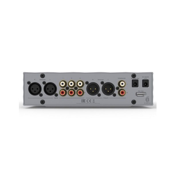 IFI Audio Pro iCan Hybrid Fully Balanced Class A Solid State & Tube Amplifier (2)