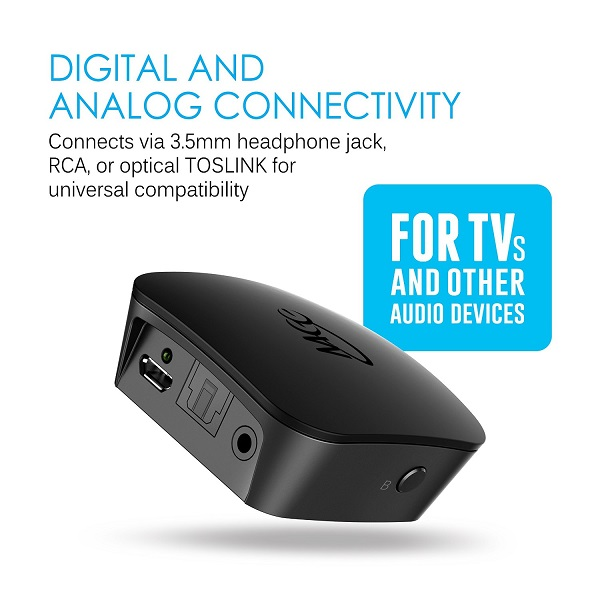 MEE Audio Connect Universal Dual Headphone Or Dual Speaker Bluetooth Wireless Audio Transmitter For TV (3)