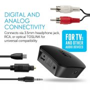 MEE Audio Connect Universal Dual Headphone Or Dual Speaker Bluetooth Wireless Audio Transmitter For TV (4)