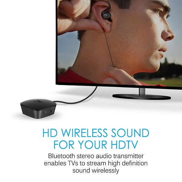 MEE Audio Connect Universal Dual Headphone Or Dual Speaker Bluetooth Wireless Audio Transmitter For TV (5)