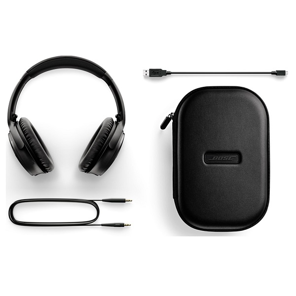 Bose QuietComfort 35 Wireless Noise Cancelling Headphone – Black (2)