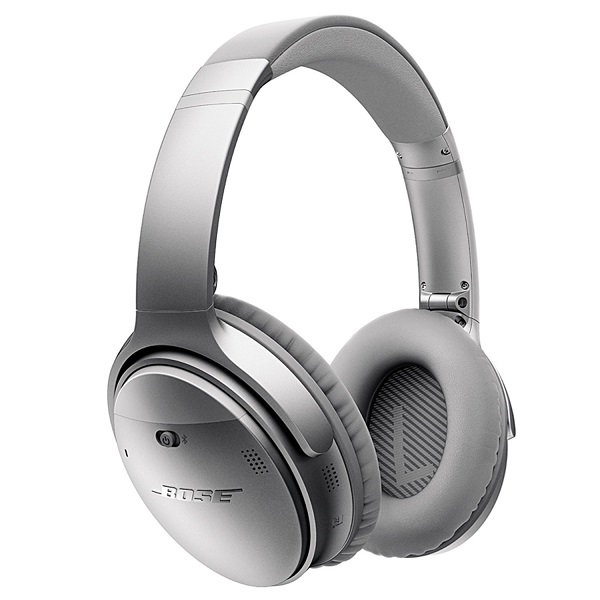 Bose QuietComfort 35 Wireless Noise Cancelling Headphone – Silver (1)