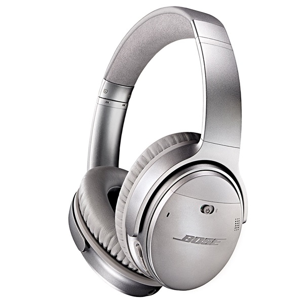 Bose QuietComfort 35 Wireless Noise Cancelling Headphone – Silver (2)