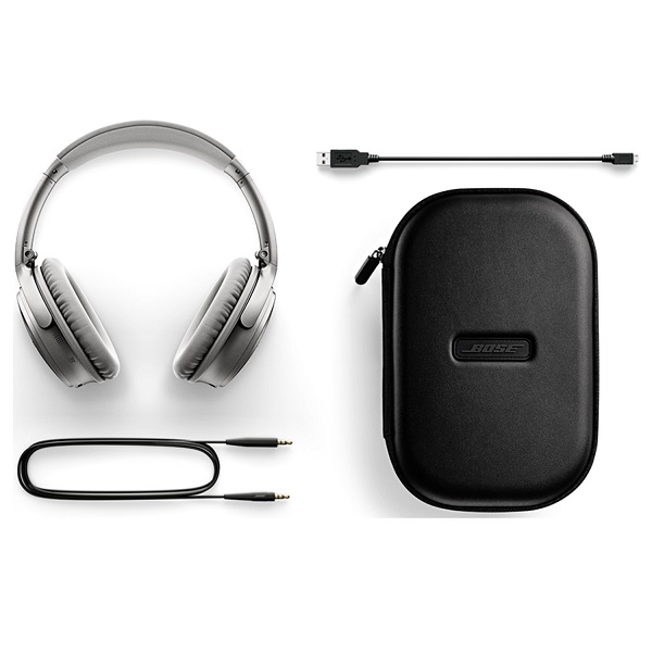 Bose QuietComfort 35 Wireless Noise Cancelling Headphone – Silver (4)