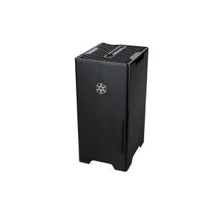 Silverstone FT03B Aluminum Tower Computer Case - Black (2)