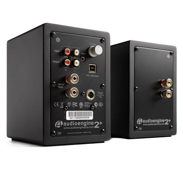 Audioengine A2+ Premium Powered Desktop Speakers – Pair – Black (1)