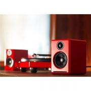 Audioengine A2+ Premium Powered Desktop Speakers – Pair – Red (1)