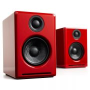 Audioengine A2+ Premium Powered Desktop Speakers – Pair – Red (3)