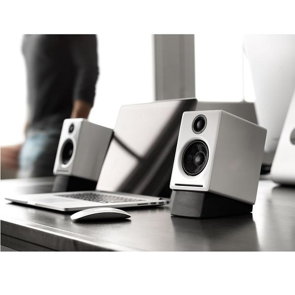 Audioengine A2+ Premium Powered Desktop Speakers – Pair – White (1)