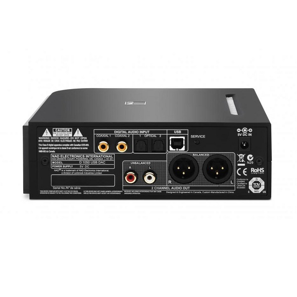 NAD D 1050 USB Digital Analog Converter & Headphone Amplifier