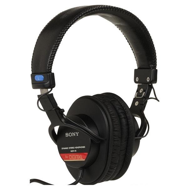 Sony MDR-V6 Closed Back Stereo Studio Headphones (2)