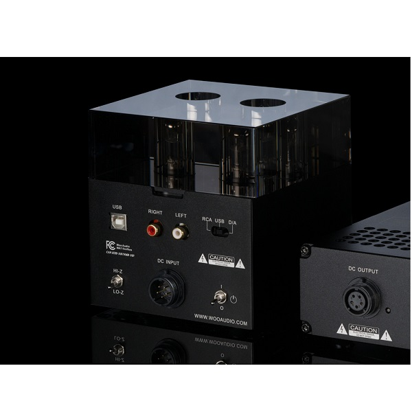 Woo Audio WA7 Fireflies Class-A Tube DAC & Headphone Amplifier – Black – 2016 ( ESS 9018 DAC ) (3)