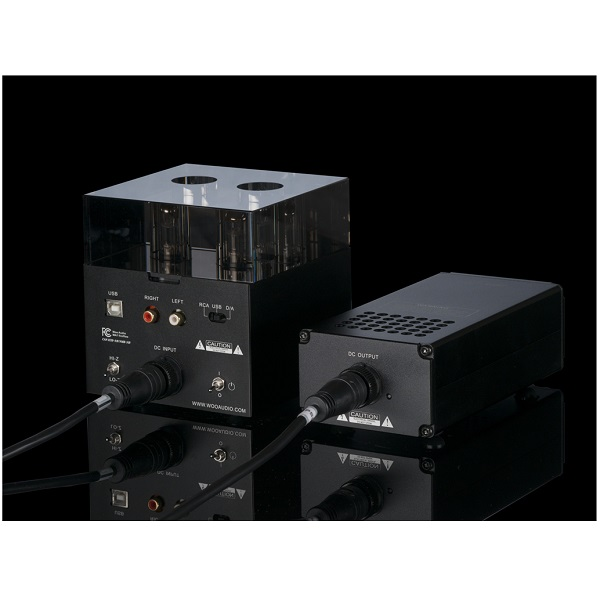Woo Audio WA7 Fireflies Class-A Tube DAC & Headphone Amplifier – Black – 2016 ( ESS 9018 DAC ) (4)