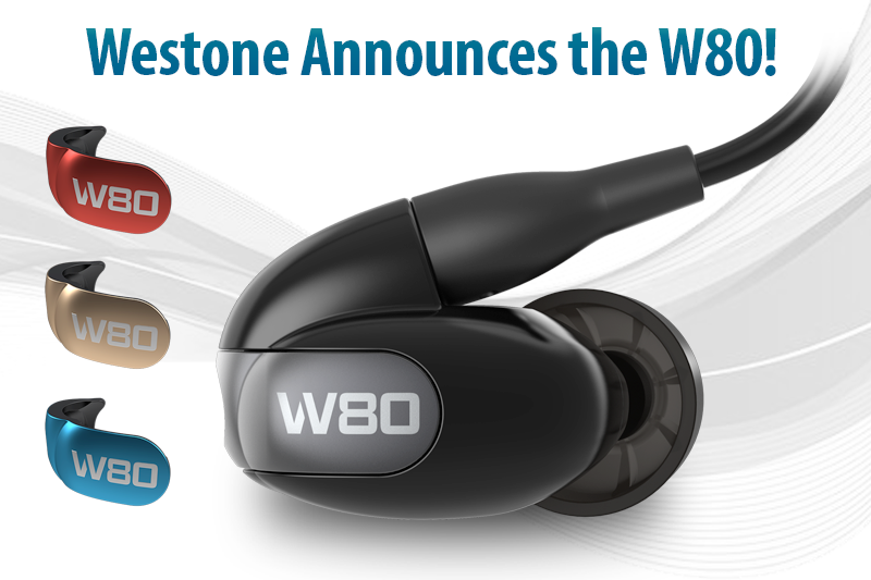 Westone W80 Signature Series 8-Driver Universal Fit In ear Headphones
